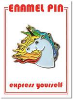 The Found Unicorn Enamel Pin