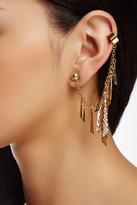 Jules Smith Designs Hammered Petal Ear Cuff