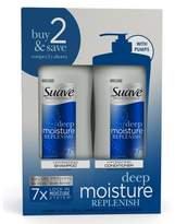 Suave Professionals Humectant Moisture Shampoo and Conditioner 28 oz, Pack of 2