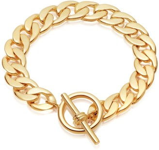 Missoma Lucy Williams T-Bar Chunky Chain Bracelet