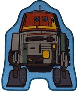 Star Wars character world Disney Rebels Tag Shaped Rug
