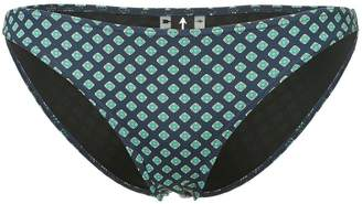 The Upside patterned bikini bottoms