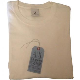 Armani Collezioni White Cotton Top for Women Vintage