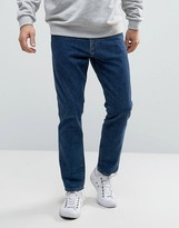 Weekday Sharp Slim Rigid Fit Jeans Amour Blue Wash