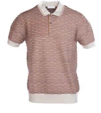 Prada Patterned Polo Shirt