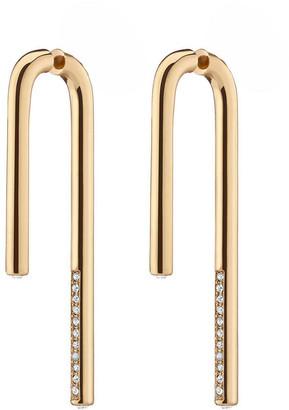 DEMARSON Celeste Linear Drop Earrings