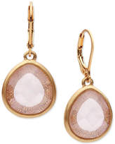 lonna & lilly Gold-Tone Teardrop Stone Drop Earrings