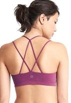 Gap Breathe low impact strappy sports bra