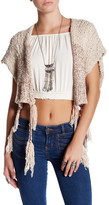 Free People Tassels Away Shrug