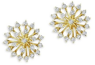 Hueb Mirage 18K Yellow Gold & Diamond Stud Earrings