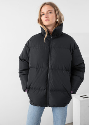 And other stories Oversized Down Puffer Coat
