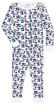 Roller Rabbit Little Girl's & Girl's 2-Piece Striped Cat Pajama Set