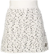 Moncler Gamme Rouge speckled mini skirt
