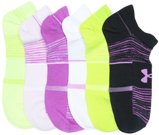 Under Armour Essential No-Show Socks - Pack of 6