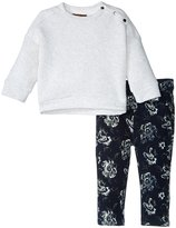 7 For All Mankind The Skinny Twill Jeans Set (Toddler) - Marshmallow - 2T