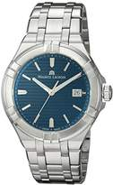 Maurice Lacroix Men's 'Aikon' Swiss Quartz Stainless Steel Casual Watch, Color:Silver-Toned (Model: AI1008-SS002-431-1)