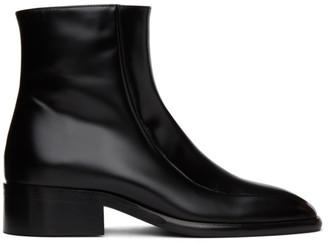Marni Black Square Toe Boot
