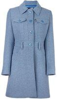 Love Moschino single breasted coat