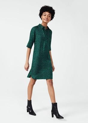 Hobbs Marciella Spot Tunic Dress