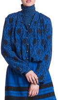 Plenty by Tracy Reese Printed Long Sleeve Shirt Tunic