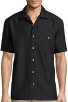 Island Shores Short-Sleeve Button-Front Shirt
