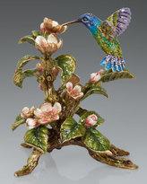 Jay Strongwater Dawn Hummingbird Tableau