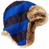 Kids Fur Trim Trapper Hat