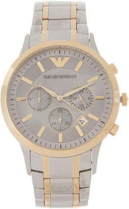 Emporio Armani AR11076 Two-Tone Watch
