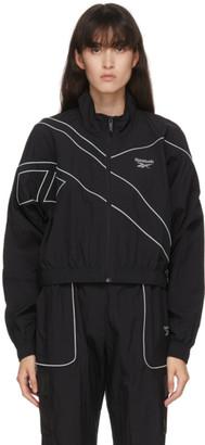 Reebok Classics Black Cropped Track Jacket