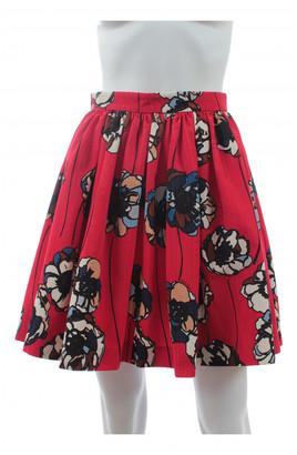Miu Miu Red Cotton Skirts