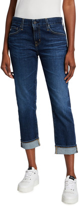 AG Jeans The Ex-Boyfriend Distressed Slim Jeans