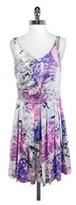 Hype Sheer Back Sleeveless Dress