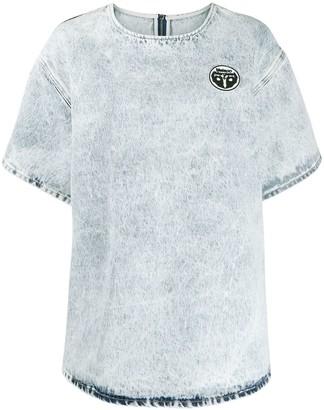 MM6 MAISON MARGIELA acid-wash oversized T-shirt