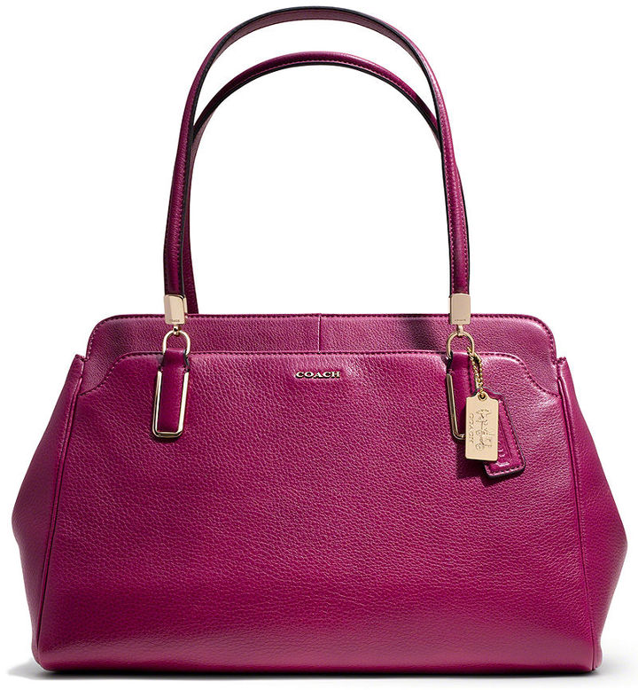 Kimberly Coach Madison Carryall In Leather