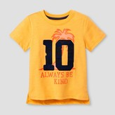 Cat & Jack Toddler Boys' Graphic T-Shirt Tangerine