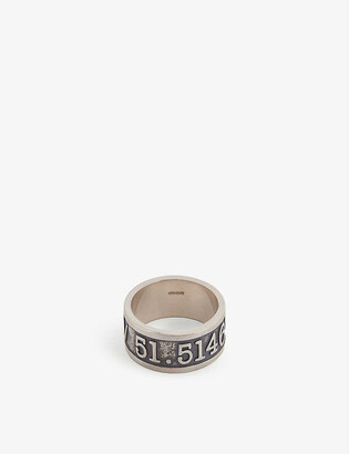 Serge Denimes Co-ordinates sterling silver ring