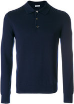 Malo long sleeved polo shirt