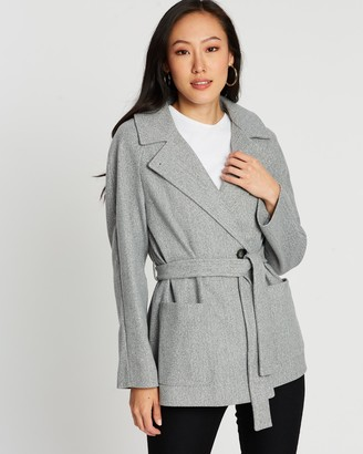 Dorothy Perkins Short Wrap Lightweight Coat