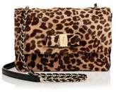 Salvatore Ferragamo Gelly leopard print shoulder bag