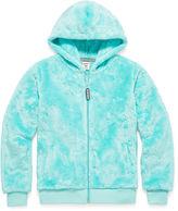 Arizona Long Sleeve Plush Full Zip Hoodie - Girls 7-16 and Plus
