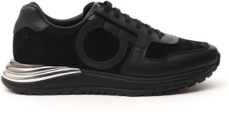 Salvatore Ferragamo Rainbow Running Sneakers