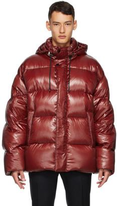Dries Van Noten Red Insulated Jacket