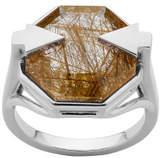 Karen Walker Astrid Ring Med Rutilated Quartz