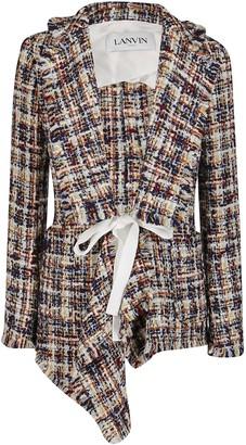 Lanvin Multicolor Virgin Wool Jacket
