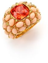 Kenneth Jay Lane Cabochon Cluster Cocktail Ring