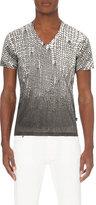Just Cavalli Knit-print Cotton-jersey T-shirt