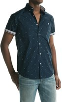 Report Collection Lightning Bolt Print Sport Shirt - Short Sleeve (For Men)