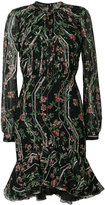 Giambattista Valli floral print flared dress