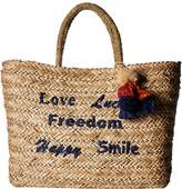 Hat Attack Statement Tote Tote Handbags