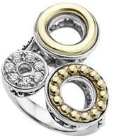 Lagos Women's Enso Diamond Pave Statement Ring